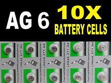 AG6 LR920 Watch Battery Coin Cells Button Cell Batteries Alkaline Pack UK Seller