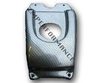 NEW HONDA TRX 400EX 99 - 07 PLASTIC BLACK CARBON FIBER GAS TANK COVER TRX400EX