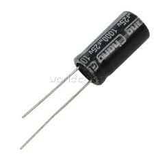 50PCS 100/220/330/470/680/820/1000/3300uF 25V 10V 16V 50V Electrolytic Capacitor