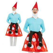25566cd24f1 Adultes Nain de Jardin Champignon Costume Femme Déguisement Hommes Portez- Moi