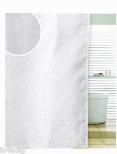 Strass Bianco Spirale Tenda Doccia In Poliestere 180 X 180cm O 180 x 200cm