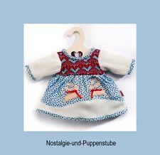 Heless Puppenkleidung  - romantisches Winterkleid für  28 cm bis 35 cm  Puppen