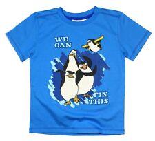 la Pinguins en Madagascar manches courtes tee-shirt