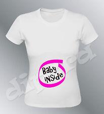 Tee shirt Future MAMAN Baby inside femme enceinte geek grossesse birth