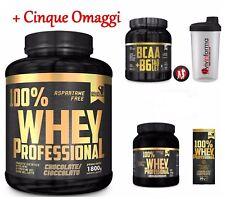 Gold's 100%whey protein professional 2,3 (1,8+0,5) KG proteine siero+ bcaa KYOWA