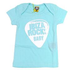 OFFICIAL Ibiza Rocks Baby Tshirt Boy Girl MINT Green Plectrum Logo (0-18 months)