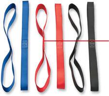 Moose ATV MX Tie Downs (Pair) With Soft Tie Black Soft Strap Extension 3920-0302