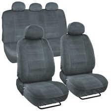 Encore Velour Fabric Car Seat Covers for Auto SUVs Van Trucks