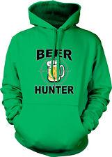 Beer Hunter Glass Mug Crosshairs Target Pong Party College Bud Hoodie Sweatshirt