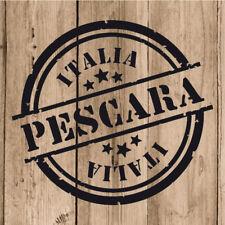 Pescara Adesivi Vinile 10 cm Adesivo Pescara Italia Parete Tablet Moto Auto