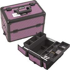 Cosmetic Train Case Aluminum Makeup Storage Organizer Trays Sunrise Professional