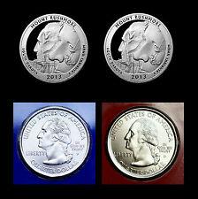 2013 P+D+S+S Mount Rushmore SD Quarter Dollar Mint Proof Set ~ National Parks