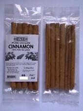 """Cinnamon Sticks, Pure Ceylon, NOT CASSIA, """"True Cinnamon""""  FREE P&P"""