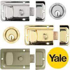 30//40 Polished Brass Lock Thumb turn with keys Eurospec CYA7133040PB