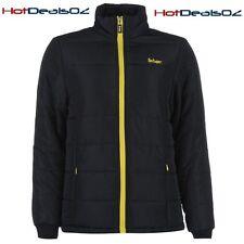 Brand New Lee Cooper Padded Ladies Jacket - Sz 10 Navy/Yellow