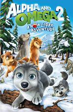 Alpha & Omega 2: A Howliday Adventure  DVD NEW