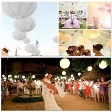12 Stück Papierlaterne Lampenschirm Lampion Deko Party Hochzeit mehrere Größen