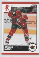 2010-11 Score Glossy #246 Mikko Koivu Minnesota Wild Hockey Card