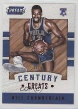 2015 Panini Threads Century Greats Proof Red #3 Wilt Chamberlain Basketball Card