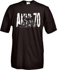 T-Shirt girocollo manica corta Vintage Roma criminale Z02 Anni 70