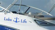 Lake Life Anchor Window Decal Wall Decor Car Truck Boat Trailer Fishing