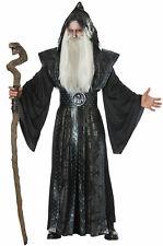Brand New Dark Wizard Magic Spells Men Adult Costume