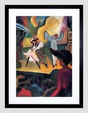 MACKE Balletto russo OLD MASTER BLACK Framed Art Print b12x2288