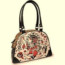 DTO 10% ! borsa Bowling Grande El Fine women animal print Leopard LIQUORBRA