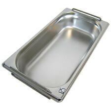 GN Behälter Gastronorm 1/3 Edelstahl 65 mm - 200 mm Tiefe FALLGRIFF