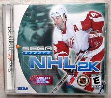 SEGA SPORTS NHL2K NTSC USA DREAMCAST