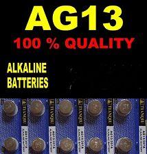 AG13 LR44 SR44 L1154 Watch Battery Coin Cells Batteries Alkaline UK Seller B4