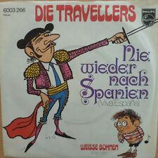 "7"" 2 COVER versioni! Travellers mai più in Spagna"