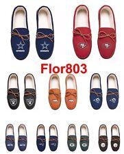 f97031878630 NFL   MLB Team Logo Color Moccasin Slippers-Pick your team