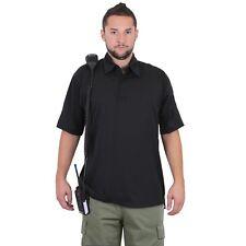 Black Polo Tactical Performance Moisture Wicking Shirt Rothco 3912