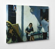 Quadro Hopper The Marta Mckean Stampa su Tela Canvas con Vernice Effetto Dipinto