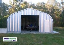Steel Residential Metal Garage P20x26 Two Car Storage Building Kit American Made