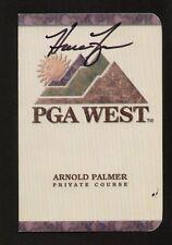 Harrison Frazar signed autograph PGA West Scorecard