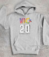 Sweat-shirt bébé LOGO COMMODORE VIC 20 ANTIQUE ordinateur de maison