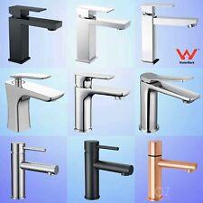 Bathroom Basin Mixer Vanity Sink Tap Laundry Brass Faucet Spout Black/Chrome AU