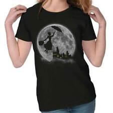 Mary Poppin Walt Disney Funny Shirt Cute Harry Potter Hogwart Ladies Tee Shirt T