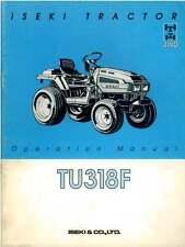 ISEKI TRATTORE tu318f operatori manuale