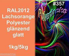 capa del Polvo Polvo Para Recubrimiento Pintura en polvo ral2012 NARANJA