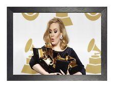 2 Adele Británico Singer Pop Leyenda Cuadro Celebrity Música Póster en Pared