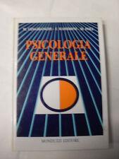 BIANCHI CESA M. MASSIMINI F. POLI M. PSICOLOGIA GENERALE ED.MONDUZZI 1989
