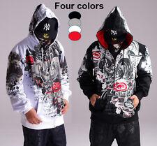 4F23 Hip-Hop Ecko Unltd  Hoodie Coat Cotton Rhino Graffiti Sweater Sweatshirt