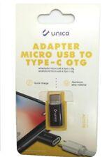 Adattatore da Micro usb a Tipo-C Type C per Samsung Huawei Lg MI HONOR blister