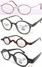 Retro Vintage Style Round Frame Designed Reading Glasses/Different Size +50~+400