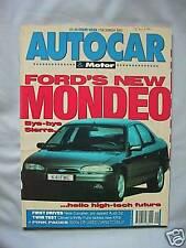 Autocar 2/12/1992 featuring Audi  S2, Ford Escort XR3i, Citroen ZX, Range Rover