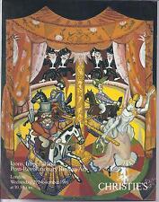 CHRISTIE'S RUSSIAN ART FABERGE IMPERIAL AVANT-GARDE BOOKS PORCELAIN Catalog 1991