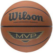 WILSON MVP basket (disponibile in taglia 5, 6 e 7) - Marrone o Viola/Verde